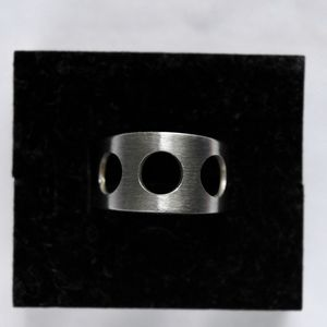 Women's Stainless Steel Ring 6.5 Steampunk